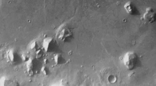 Cydonia Marte.