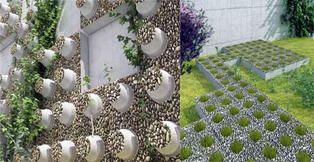 Ladrillos ecol gicos y decorativos Jardines verticales baratos