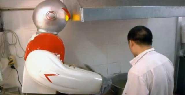 Robot de fideos