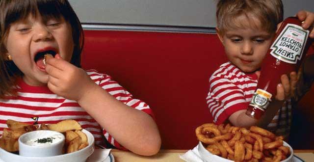 La comida r pida es una causa de la obesidad infantil for Una comida rapida