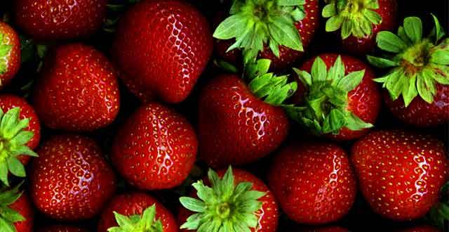 Fresas buena salud