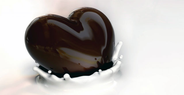 Chocolate negro aterosclerosis