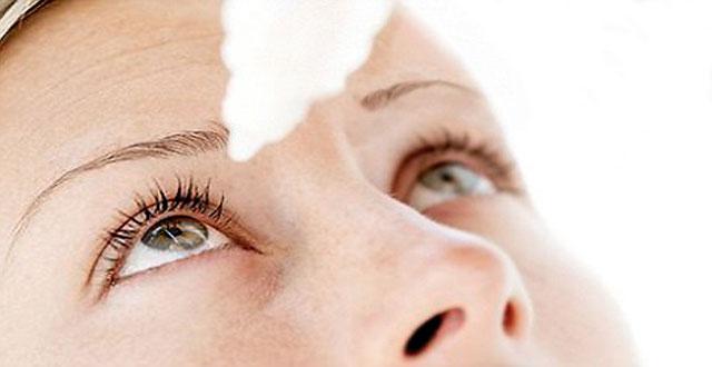 Inyecciones oculares gotas