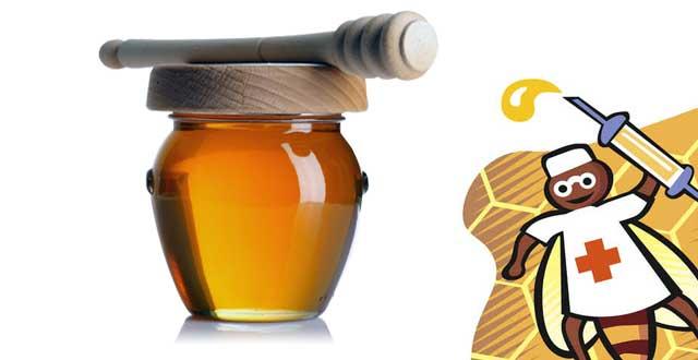 Miel antibiotico complemento