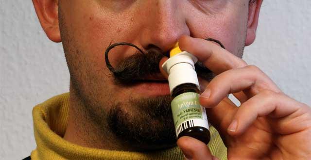 Antidepresivo administracion nasal