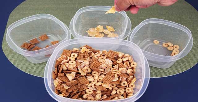 Cereal ingesta calorias