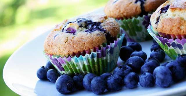 Mora azul dieta