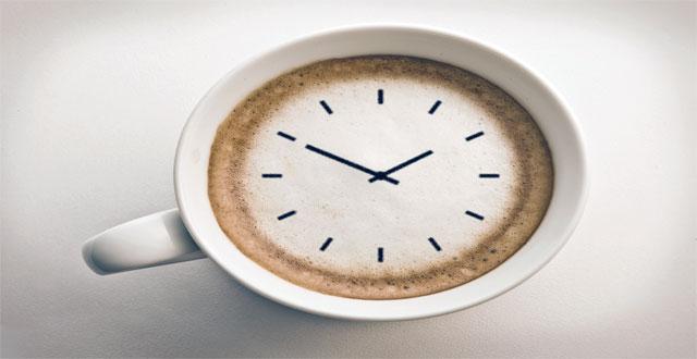Cafe reloj biologico